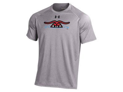 Hickory Crawdads MiLB Men's UA Logo Tech T-Shirt