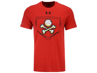 EL Paso Chihuahuas Under Armour MiLB Men's At Home Logo Charged Cotton T-Shirt
