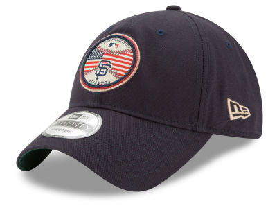 San Francisco Giants New Era MLB Americana Patch 9TWENTY Strapback Cap