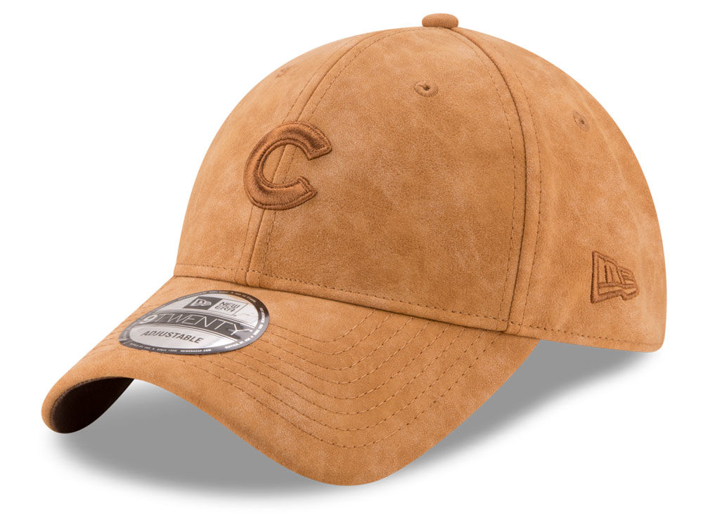 6a95f76377a ... real chicago cubs new era mlb pure leather 9twenty cap 74c8e 95b3b