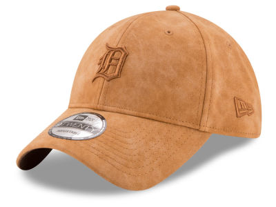 Detroit Tigers New Era MLB Pure Leather 9TWENTY Cap