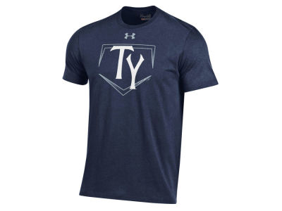 Tampa Yankees Under Armour MiLB Men's At Home Logo Charged Cotton T-Shirt