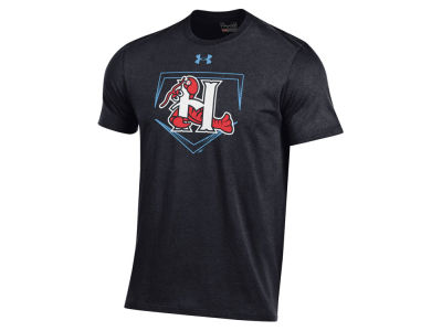 Hickory Crawdads Under Armour MiLB Men's At Home Logo Charged Cotton T-Shirt