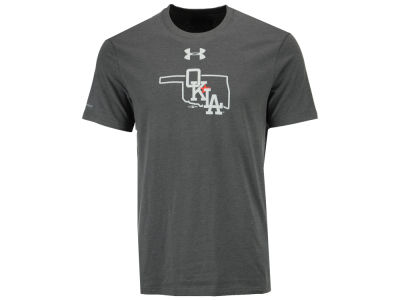 Oklahoma City Dodgers Under Armour MiLB Men's Logo Charged Cotton T-Shirt