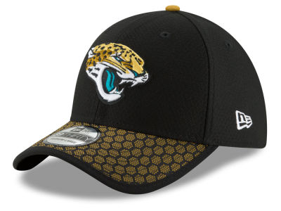 Jacksonville Jaguars New Era 2017 Official NFL Kids Sideline 39THIRTY Cap