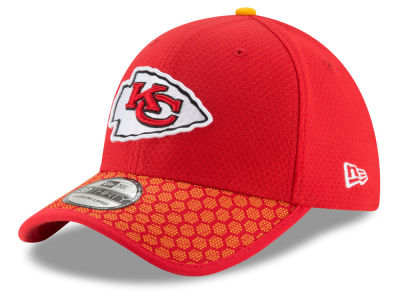 Kansas City Chiefs New Era 2017 Official NFL Kids Sideline 39THIRTY Cap
