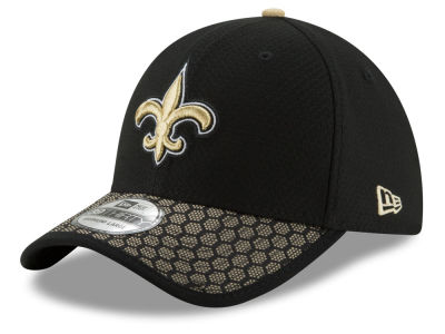 New Orleans Saints New Era 2017 Official NFL Kids Sideline 39THIRTY Cap