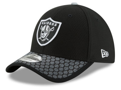 Oakland Raiders New Era 2017 Official NFL Kids Sideline 39THIRTY Cap