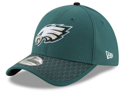 Philadelphia Eagles New Era 2017 Official NFL Kids Sideline 39THIRTY Cap