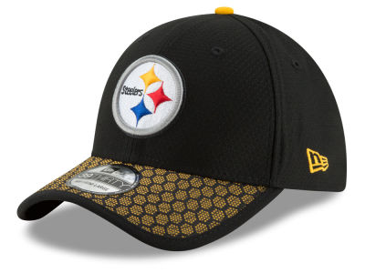 Pittsburgh Steelers New Era 2017 Official NFL Kids Sideline 39THIRTY Cap