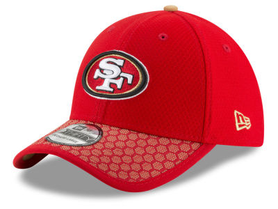San Francisco 49ers New Era 2017 Official NFL Kids Sideline 39THIRTY Cap