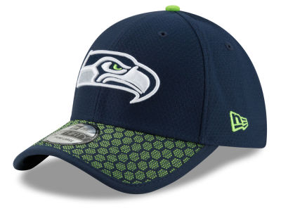Seattle Seahawks New Era 2017 Official NFL Kids Sideline 39THIRTY Cap