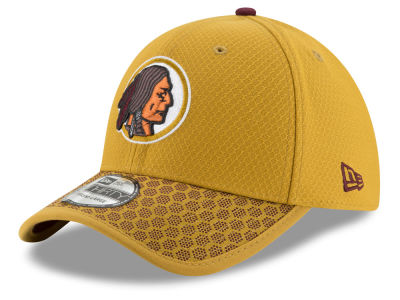 Washington Redskins New Era 2017 Official NFL Kids Sideline 39THIRTY Cap