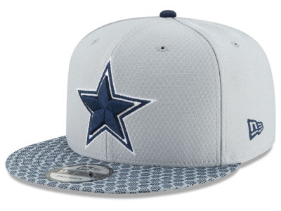 Dallas Cowboys New Era 2017 Official NFL Kids Sideline 9FIFTY Snapback Cap