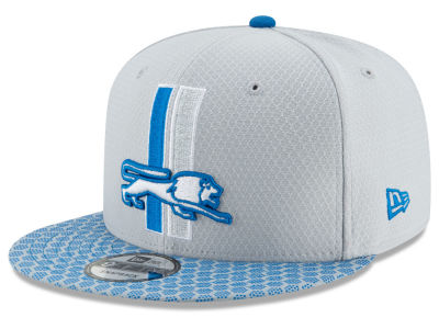 Detroit Lions New Era 2017 Official NFL Kids Sideline 9FIFTY Snapback Cap