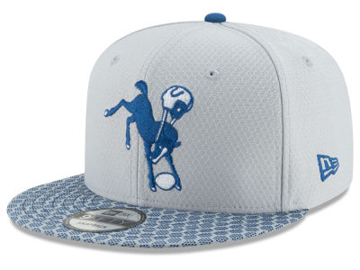 Indianapolis Colts New Era 2017 Official NFL Kids Sideline 9FIFTY Snapback Cap