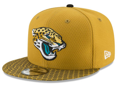 Jacksonville Jaguars New Era 2017 Official NFL Kids Sideline 9FIFTY Snapback Cap