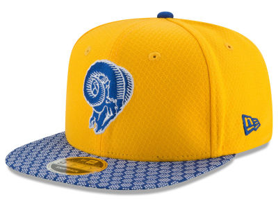 Los Angeles Rams New Era 2017 Official NFL Kids Sideline 9FIFTY Snapback Cap