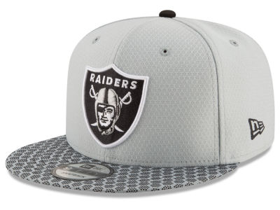 Oakland Raiders New Era 2017 Official NFL Kids Sideline 9FIFTY Snapback Cap