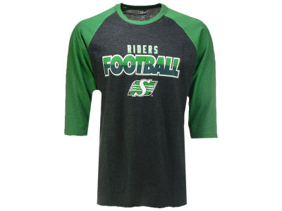 Saskatchewan Roughriders '47 CFL Men's Club Raglan T-Shirt