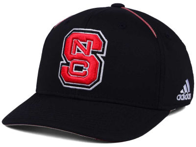 North Carolina State Wolfpack adidas 2017 NCAA Coaches Flex Cap