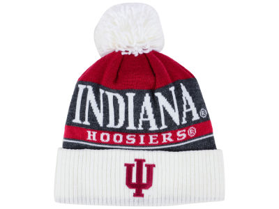 Indiana Hoosiers adidas NCAA Big Word Pom Knit