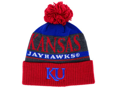 Kansas Jayhawks adidas NCAA Big Word Pom Knit