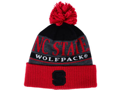 North Carolina State Wolfpack adidas NCAA Big Word Pom Knit