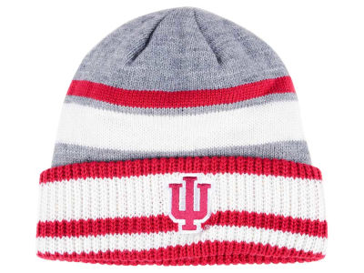 Indiana Hoosiers adidas NCAA Gray Dome 2 Cuff Knit