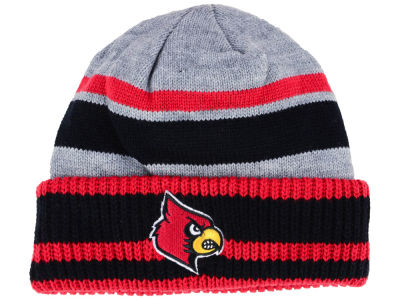 Louisville Cardinals adidas NCAA Gray Dome 2 Cuff Knit