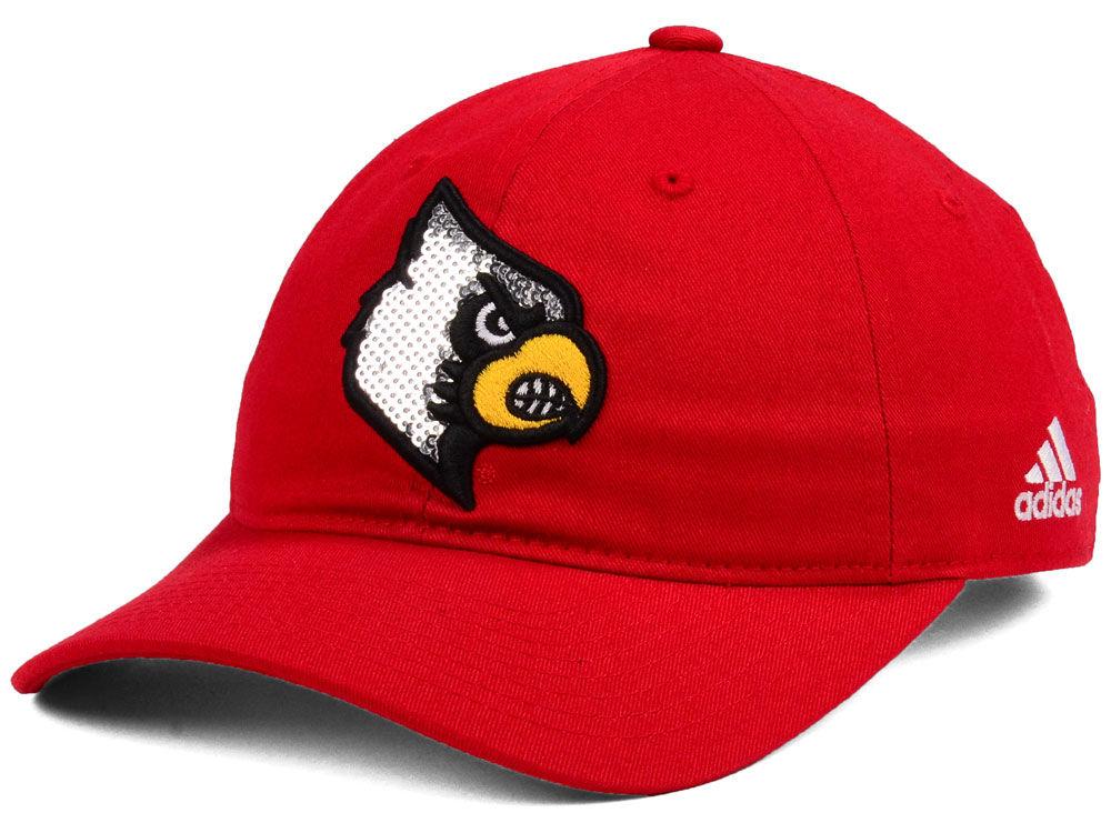 Louisville Cardinals adidas NCAA Women s Bling Bling Adjustable Cap ... 89a412e11