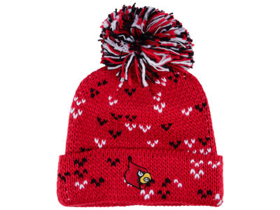 Louisville Cardinals adidas 2017 NCAA Women's Big Pom Knit