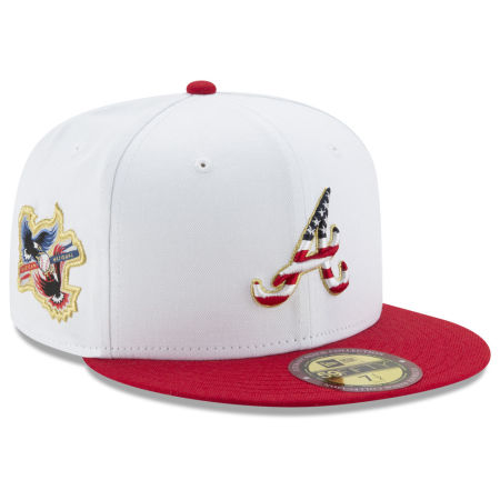 Atlanta Braves New Era MLB Americana Ultimate Patch Collection 59FIFTY Cap
