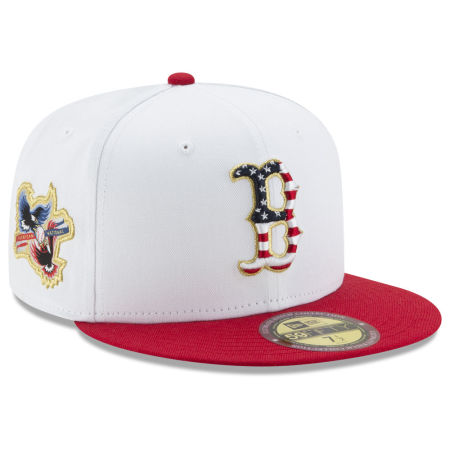 Boston Red Sox New Era MLB Americana Ultimate Patch Collection 59FIFTY Cap