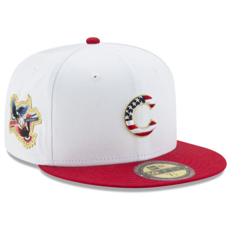 Chicago Cubs New Era MLB Americana Ultimate Patch Collection 59FIFTY Cap