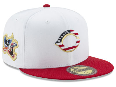 Cincinnati Reds New Era MLB Americana Ultimate Patch Collection 59FIFTY Cap