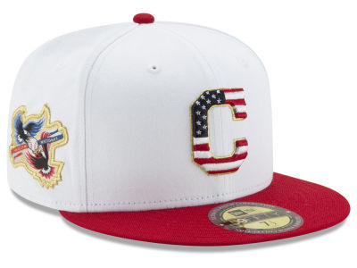 Cleveland Indians New Era MLB Americana Ultimate Patch Collection 59FIFTY Cap