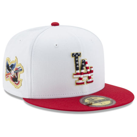 Los Angeles Dodgers New Era MLB Americana Ultimate Patch Collection 59FIFTY Cap