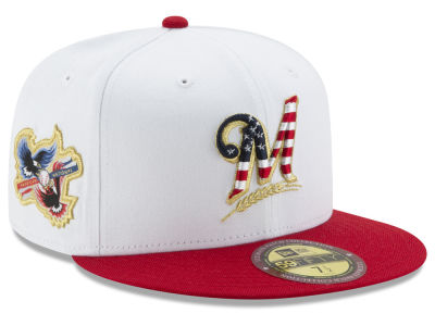 Milwaukee Brewers New Era MLB Americana Ultimate Patch Collection 59FIFTY Cap