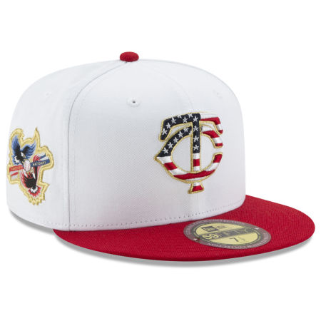 Minnesota Twins New Era MLB Americana Ultimate Patch Collection 59FIFTY Cap