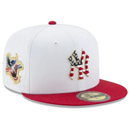 New York Yankees New Era MLB Americana Ultimate Patch Collection 59FIFTY Cap
