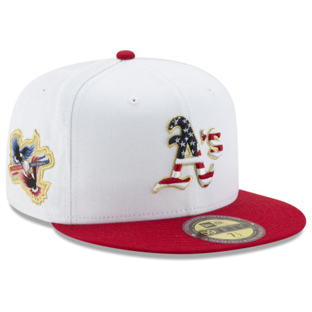 Oakland Athletics New Era MLB Americana Ultimate Patch Collection 59FIFTY Cap