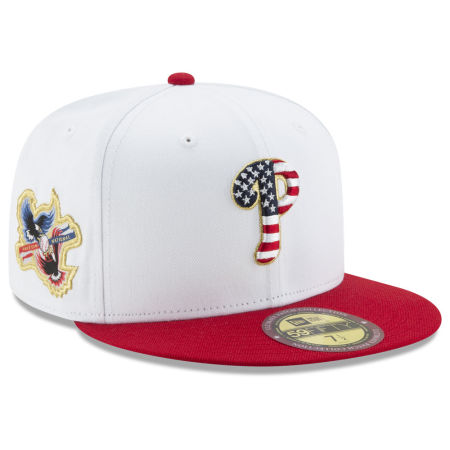 Philadelphia Phillies New Era MLB Americana Ultimate Patch Collection 59FIFTY Cap