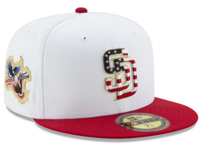 San Diego Padres New Era MLB Americana Ultimate Patch Collection 59FIFTY Cap