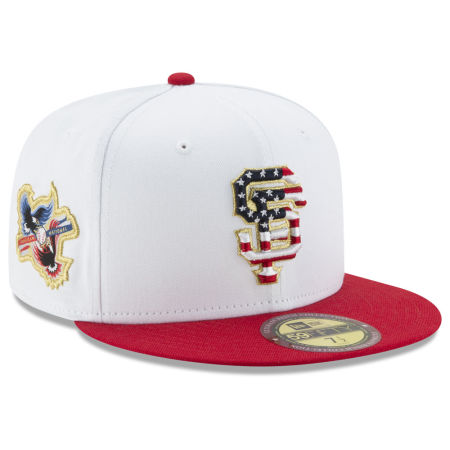 San Francisco Giants New Era MLB Americana Ultimate Patch Collection 59FIFTY Cap