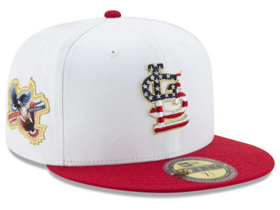 St. Louis Cardinals New Era MLB Americana Ultimate Patch Collection 59FIFTY Cap