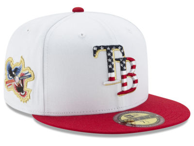 Tampa Bay Rays New Era MLB Americana Ultimate Patch Collection 59FIFTY Cap