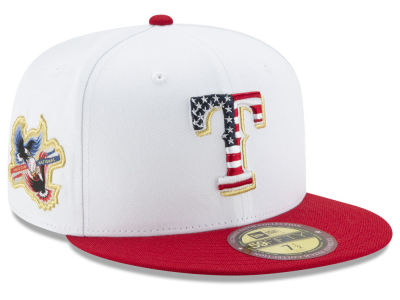 Texas Rangers New Era MLB Americana Ultimate Patch Collection 59FIFTY Cap