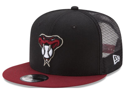 Arizona Diamondbacks New Era MLB On Field Mesh 9FIFTY Snapback Cap