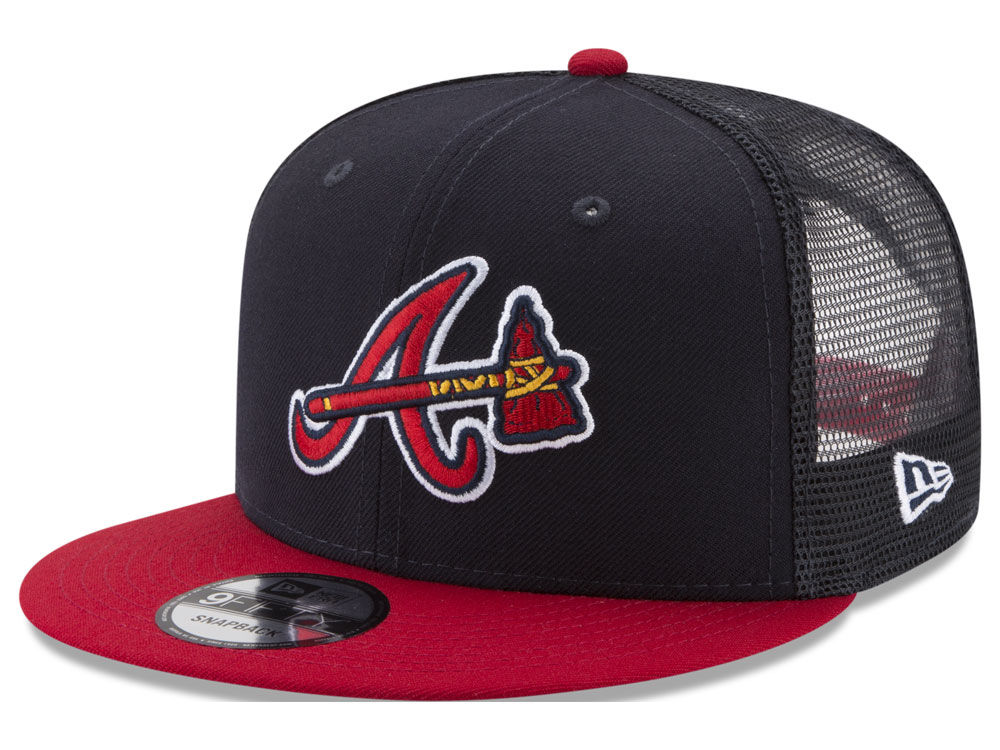separation shoes e8df2 3a01f ... discount code for atlanta braves new era mlb on field mesh 9fifty  snapback cap 9592d 1a60c ...